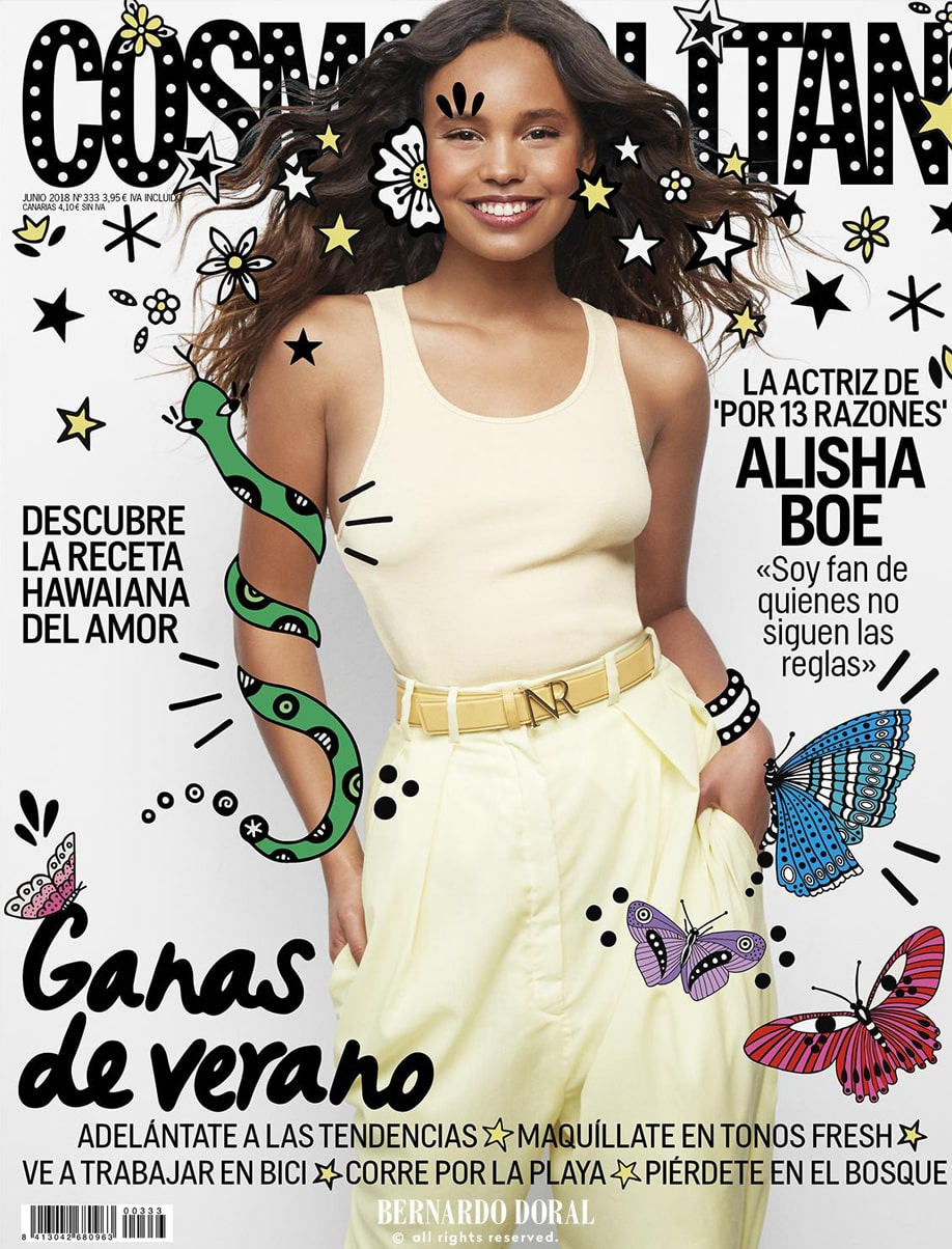 Alisha Boe - COSMOPOLITAN - June 2018 Issue​