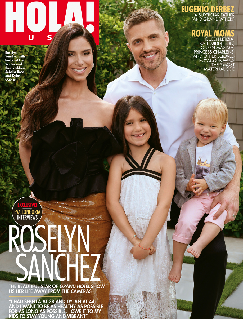 Roselyn Sanchez - HOLA US - May 2019 Issue